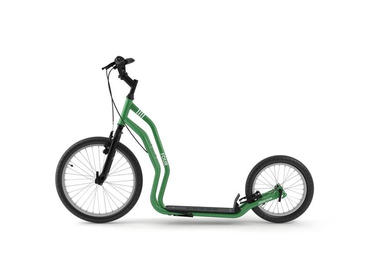 Koloběžka Yedoo Four - green